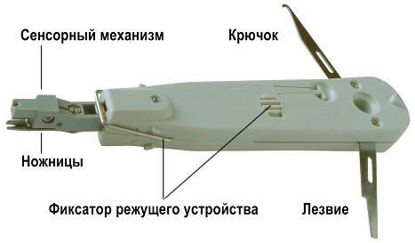 Монтажный инструмент для